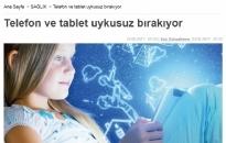 Türkiye Gazetesi,</br>Mavi Işıktan Gözlerimizi...</br>23.02.2017