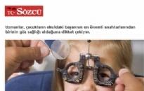 sozcu.com.tr</br>Çocukların okul başarısı...</br>01.10.2015