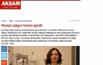 aksam.com.tr</br>Miyopi Salgın Haline Geldi!</br>03.02.2016
