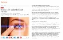 markterest.com</br>Kornea Nakli Hakkında...</br>24.12.2015