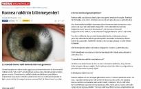 gazetevatan.com</br>Kornea Nakli Hakkında...</br>24.12.2015