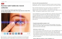 haberturk.com</br>Kornea Nakli Hakkında...</br>24.12.2015