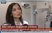 NTV, Ana Haber Bülteni Göz renginin değiştirilmesi 20.03.2015