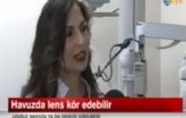 NTV, Ana Haber Bülteni Kontakt lenslerinizle yüzmeyin 13.05.2013