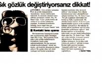 Türkiye Sık Gözlük Değiştiriy... 06.05.2007