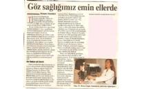 Kadiköy Göz Sağlığımız Emin... 2-8 Haziran 2006