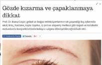 milliyet.com.tr</br>Gözde kızarma ve...</br> 11.11.2015