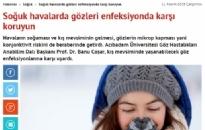 aksam.com.tr</br>Gözde kızarma ve...</br> 11.11.2015