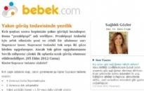 bebek.com Yakın Görüş Tedavisinde... 05.10.2012