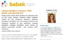 bebek.com Latisse Kirpikleri Uzatıyor... 30.07.2012
