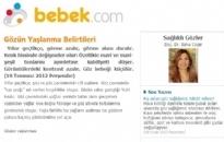 bebek.com Gözün Yaşlanma Belirtileri 19.07.2012