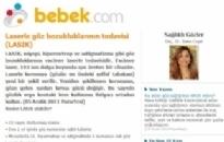 bebek.com Laserle Göz Bozukluklarının... 05.12.2011
