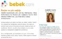 bebek.com İlaçlar ve Göz Sağlığı 21.01.2011