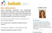 bebek.com Göz Enfeksiyonları 06.12.2010