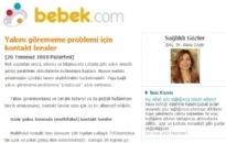 bebek.com Yakın Görme Problemi... 26.07.2010