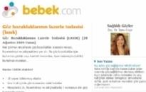 bebek.com Göz Bozukluklarının Lazerle... 28.08.2009