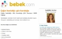 bebek.com Çağın Hastalığı... 10.07.2009