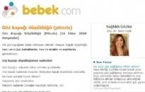 bebek.com Göz Kapağı Düşüklüğü 16.10.2008