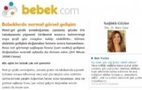 bebek.com Bebeklerde Normal Görsel 04.04.2008