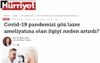 Hürriyet Covid-19 Pandemisi Göz... 19.04.2021