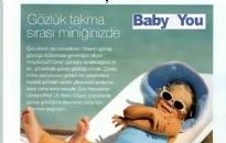 Baby&You</br>Çocuklarda Güneş Gözüğü...</br>Temmuz 2017
