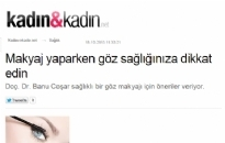 kadinvekadin.net Makyaj Yaparken... 18.10.2013