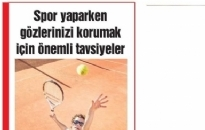 Gazette</br>Spor Yaparken Gözlerinizi...</br>04.08.2017