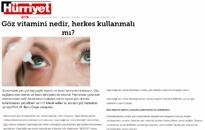 Hürriyet Göz Vitamini Nedir? 20.08.2020
