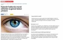 gazetevatan.com</br>Katarakt Hakkında Merak...</br>15.03.2016