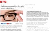 star.com.tr</br>Mesleğe Göre Gözlük...</br>27.03.2017