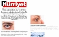hurriyet.com.tr Koronavirüsü Göz Yoluyla... 02.04.2020