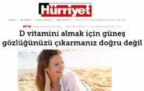 Hürriyet D Vitamini Almak İçin... 05.08.2020
